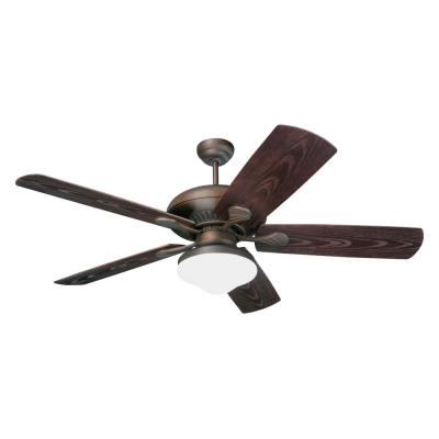 """Monte Carlo Fans 5SH54RBD-L 54"""" 5-Blade Outdoor Ceiling Fan"""