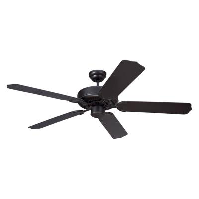 "Monte Carlo Fans 5WF52BK Weatherford -52"" Semi-Flush Ceiling Fan"