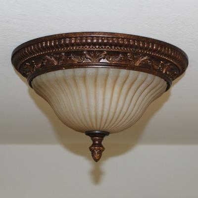Feiss FM253ATS Sonoma Valley - Two Light Flush Mount