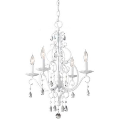 Feiss F1904/4SGW Chateau Blanc - Four Light Mini Chandelier