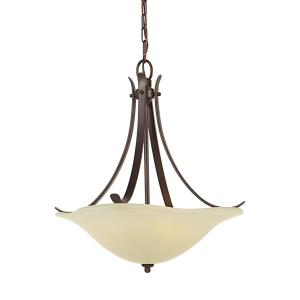 Morningside - Three Light Pendant