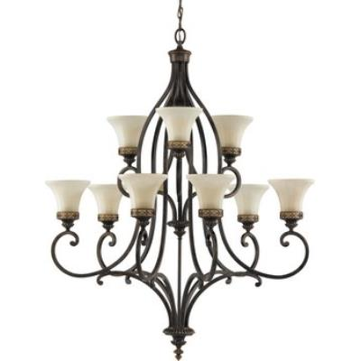 Feiss F2225/6+3WAL Drawing Room CollectionChandelier - 2 Tiers