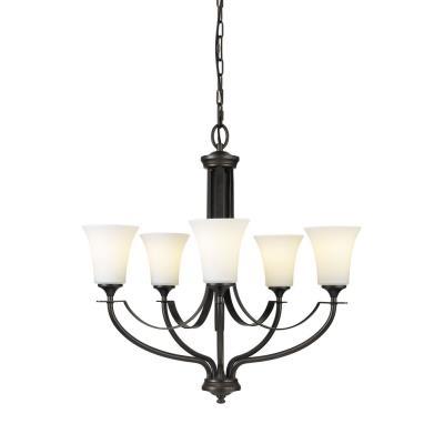 Feiss F2252/5ORB Barrington - Five Light Chandelier