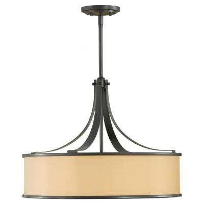 Feiss F2343/4DBZ 4-Light Casual Luxury Light Uplight Pendant