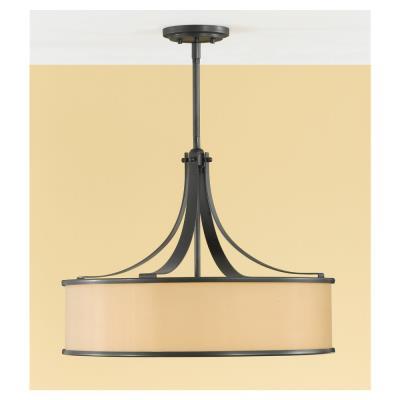 Feiss F2343/4DBZ 4-Light Casual Luxury Light Uplight Pendant