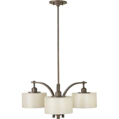 Feiss F2403/3CB 3 Light Chandelier