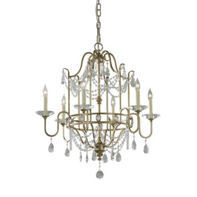 Feiss F2475/6 Gianna - Six Light Chandelier