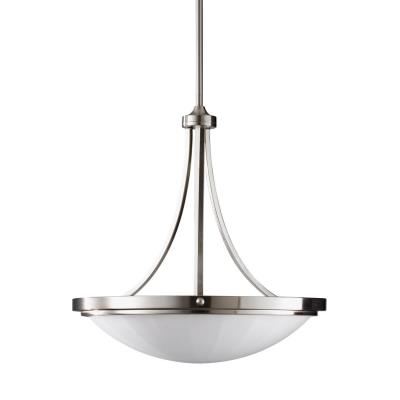Feiss F2583/3BS Perry - Three Light Pendant