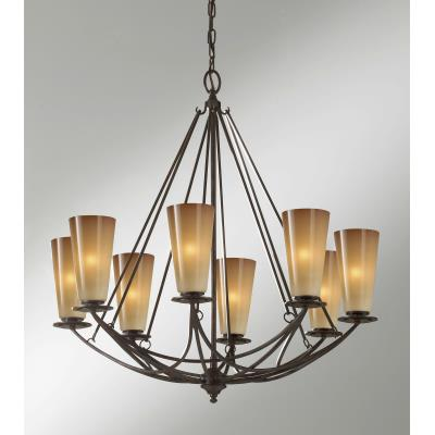 Feiss F2606/8MBZ El Nido - Eight Light Chandelier