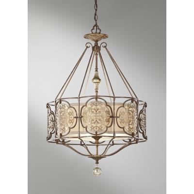 Feiss F2697/3BRB/OBZ Marcella - Three Light Large Pendant