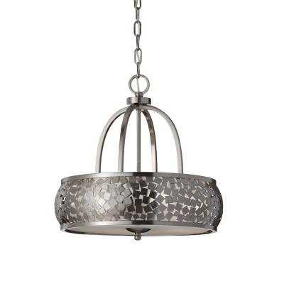 Feiss F2737/4BS Zara - Four Light Pendant