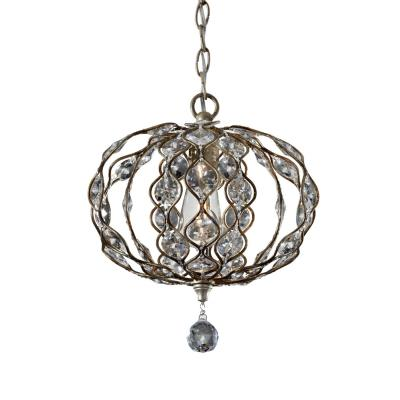 Feiss F2742/1BUS Leila - One Light Chandelier