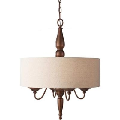 Feiss F2786/4PRBZ Yorktown Heights - Four Light Large Pendant