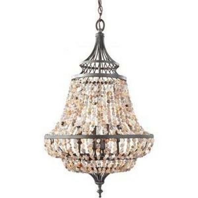 Feiss F2807/4RI Maarid - Four Light Chandelier