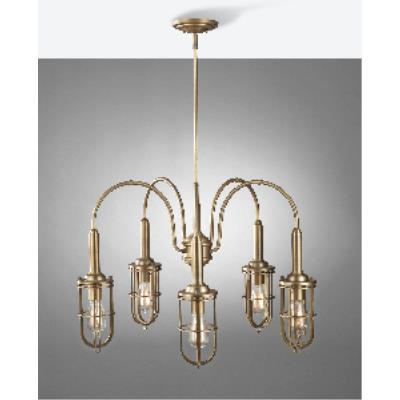 Feiss F2826/5DAB Urban Renewal - Five Light Chandelier
