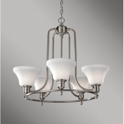 Feiss F2829/5BS Cumberland - Five Light Chandelier