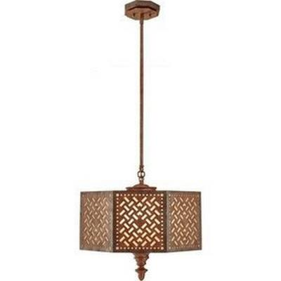 Feiss F2905/3MOB Kandira - Three Light Pendant