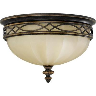 Feiss FM261WAL The Edwardian Collection Flushmount