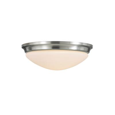Feiss FM272BS Barrington - Two Light Flush Mount