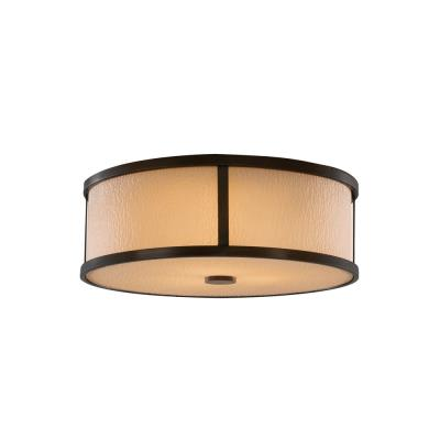 Feiss FM334 Preston - Three Light Flush Mount