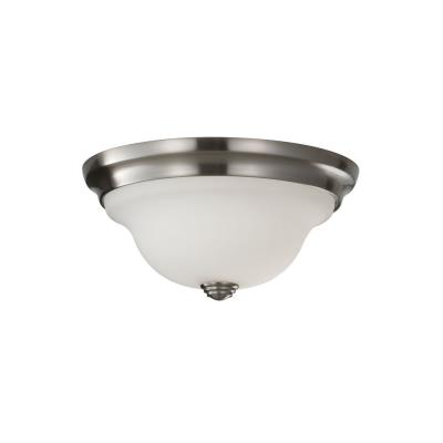 Feiss FM360BS Beckett - One Light Flush Mount