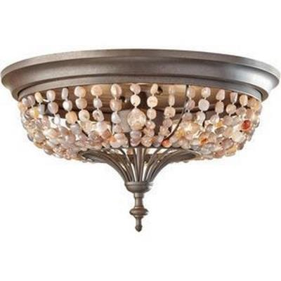 Feiss FM376RI Maarid - Three Light Flush Mount