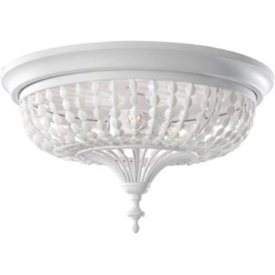 Feiss FM376WSG Maarid - Three Light Flush Mount