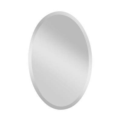 "Feiss MR1153 Infinity - 24"" Oval Mirror"