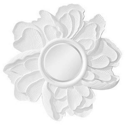 "Feiss MR1165HGW Peony - 36"" Mirror"