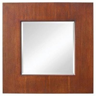 "Feiss MR1174CHAI Healy - 30"" Square Mirror"