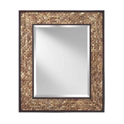 "Feiss MR1211NCK Weave - 31"" Mirror"