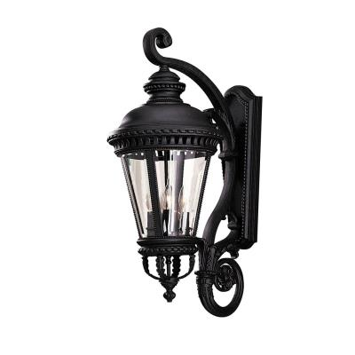 Feiss OL1904BK Wall Mount Lantern