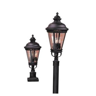 Feiss OL1907BK Pier/Post Lantern