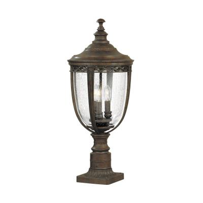 Feiss OL3008BRB Pier/Post Lantern