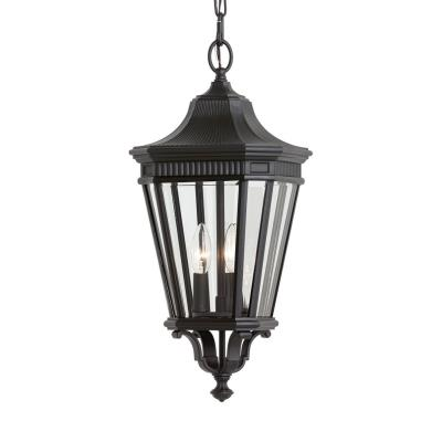 Feiss OL5411BK Cotswold Lane - Three Light Pendant