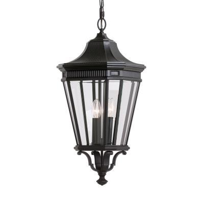 Feiss OL5412BK Cotswold Lane - Three Light Pendant