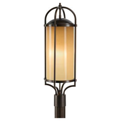 Feiss OL7607HTBZ Dakota - Three Light Outdoor Post Mount