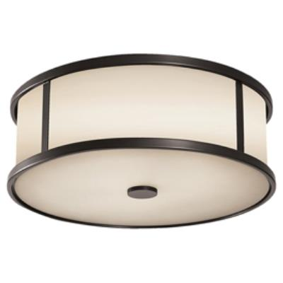 Feiss OL7613ES Dakota - 3 Light Outdoor Flushmount Ceiling Fixture