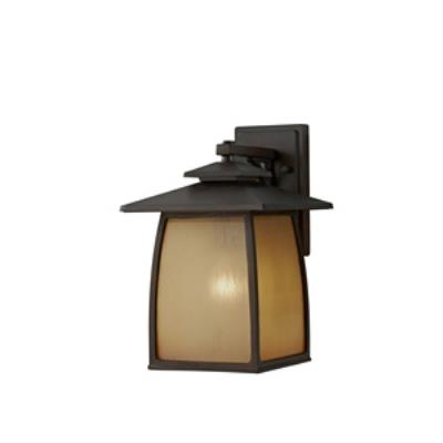 Feiss OL8502SBR Wright House - One Light Outdoor Wall Lantern