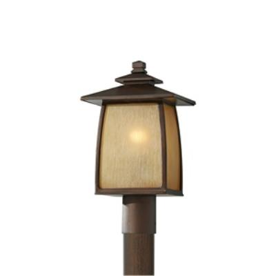 Feiss OL8508SBR Wright House - One Light Outdoor Post Mount