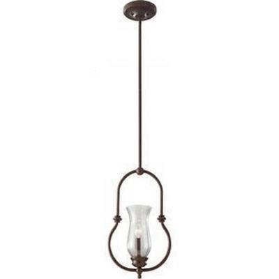 Feiss P1268HTBZ Pickering Lane - One Light Mini-Pendant