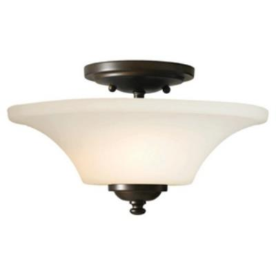 Feiss SF240ORB Barrington - Two Light Semi-Flush Mount