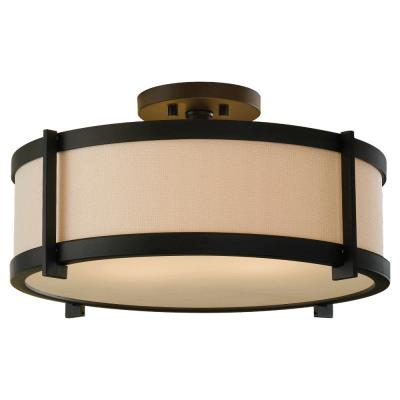 Feiss SF272ORB Stelle - Two Light Semi-Flush Mount