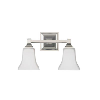 Feiss VS12402-PN American Foursquare Collec2 Light Vanity
