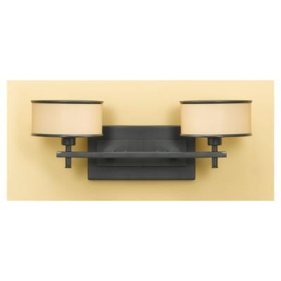 Feiss VS13702-DBZ 2-Light Casual Luxury Light Vanity