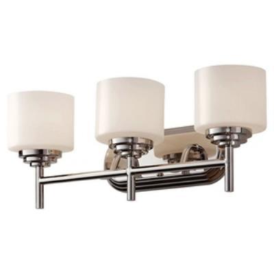 Feiss VS26003-PN Malibu - Three Light Bath Bar