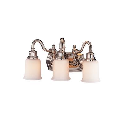 Feiss VS8003-PN Three Light Vanity Strip