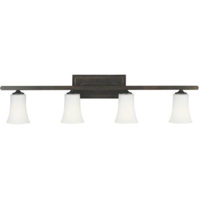Feiss VS8704-ORB Boulevard 4 Light Vanity Fixture