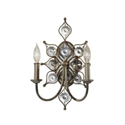 Feiss WB1579BUS Leila - Two Light Wall Sconce