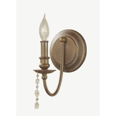 Feiss WB1593RUS Aura - One Light Wall Sconce
